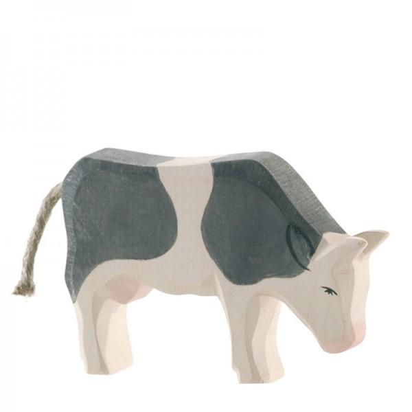 Ostheimer Kuh schwarz fressend 11043
