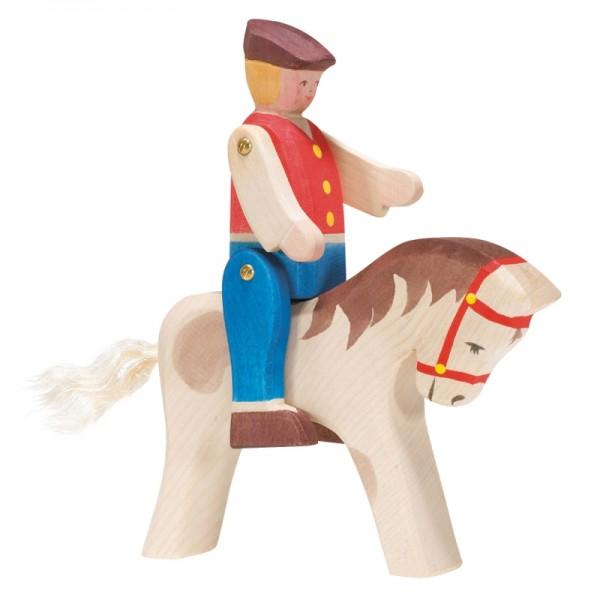 Ostheimer Reiter mit Pferd 2-tlg. 1080